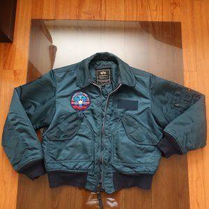Alpha Industries CWU 45/P Bomber Jacket (Vintage)